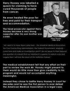 The Harry Hoxsey Story