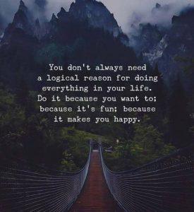 You Do Not Need A Reason