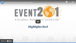 Event 201 Global Pandemic Exercise