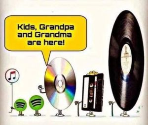 Hey Kids, Your Grandparents Are Here