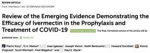 Ivermectin Emerging Evidence