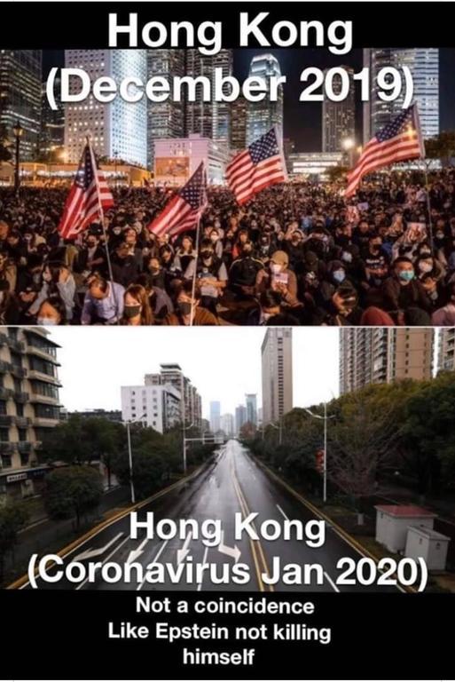 Hong Kong Before And After Coronavirus