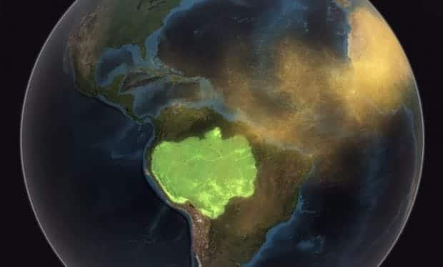 Sahara Fertilizes Amazon
