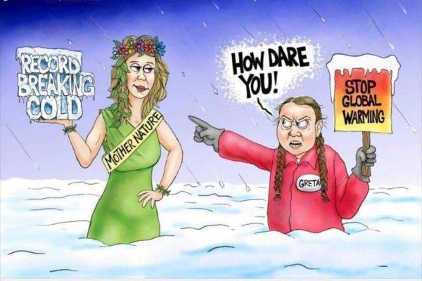Greta vs Mother Nature