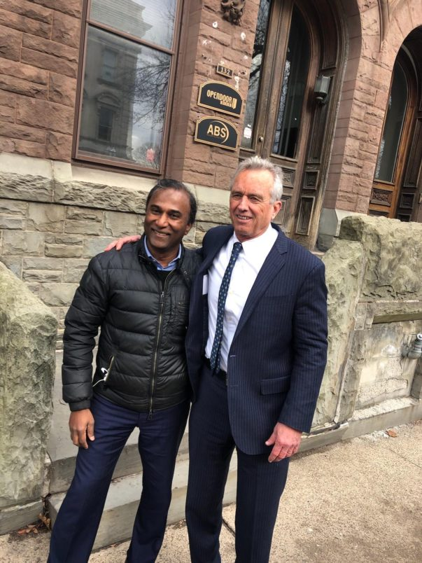 Dr Shiva And Robert F Kennedy Jr