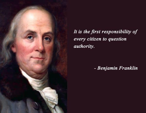 First Respondibility Of A Citizen