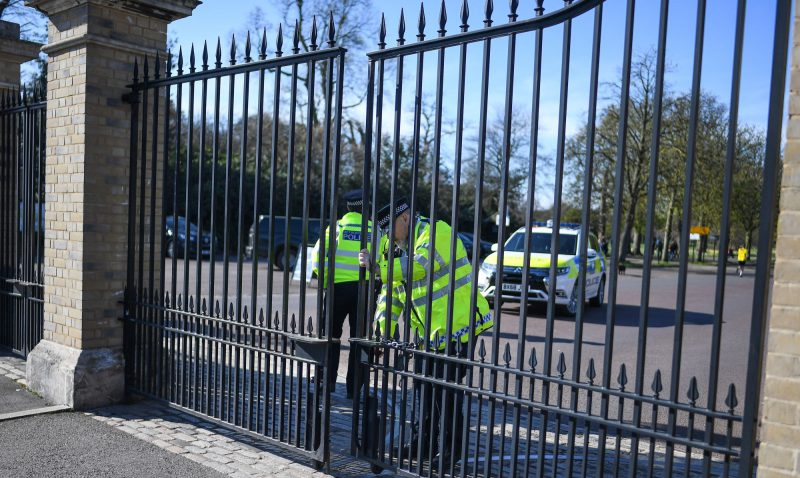 Police Close Gates On Personal Freedom
