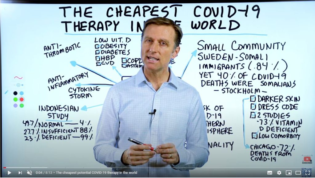 Dr Berg Shares The Cheapest COVID-19 Therapy