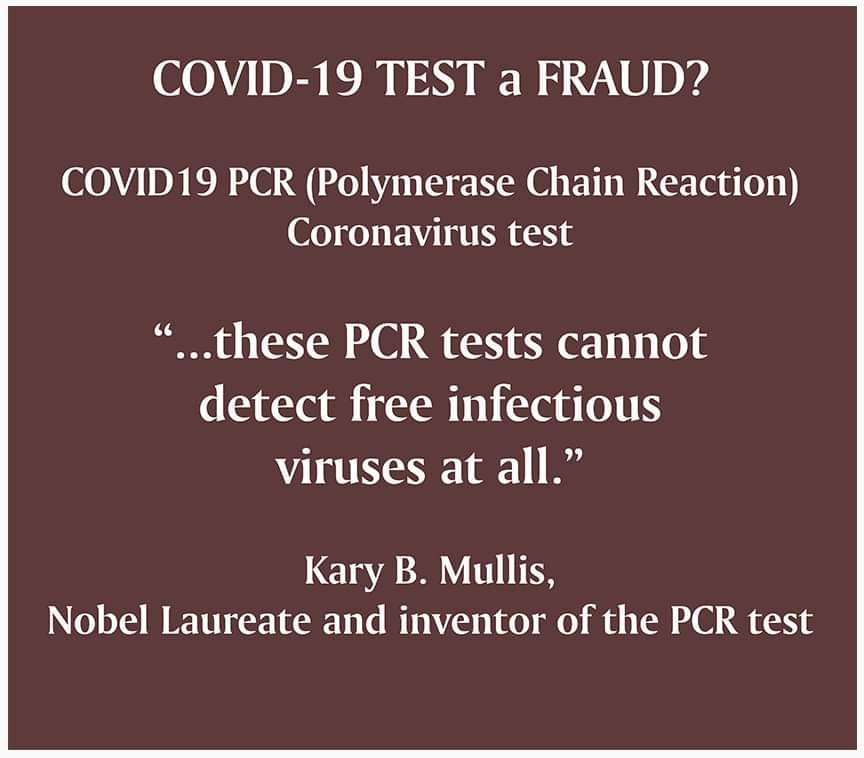 COVID-19 Test Is A Fraud