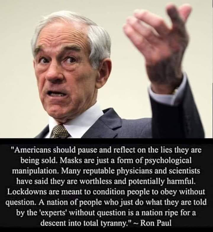 Ron Paul Descent Into Tryanny