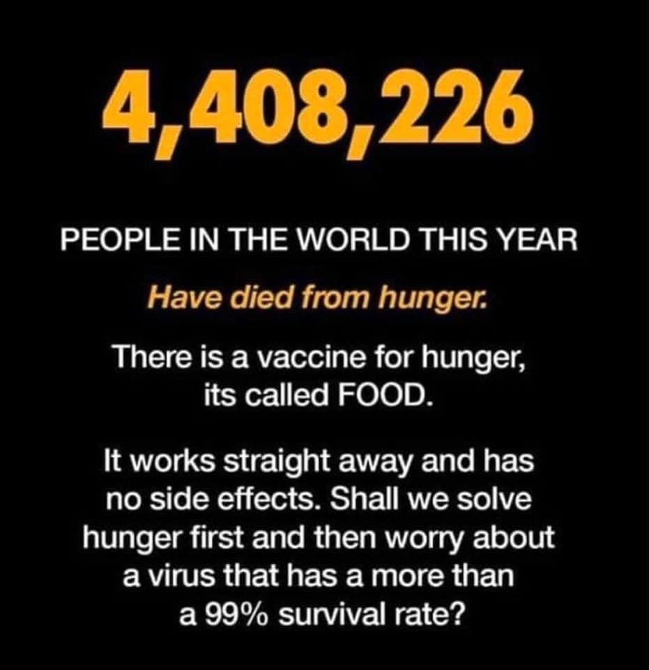 Solve Hunger First