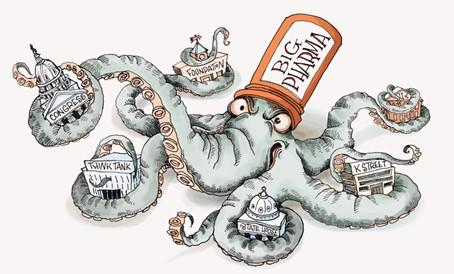 Big Pharma Tentacles