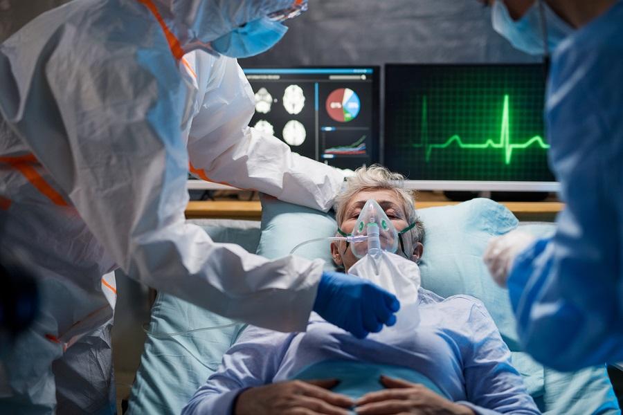 Infected Patient In Quarantine