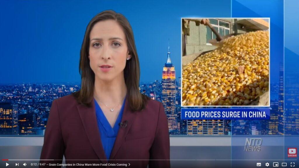 China's food crisis worsens