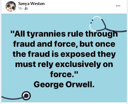 Tyranny Rules By Fraud And Force